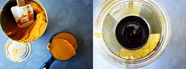 pumpkin and blackstrap molasses
