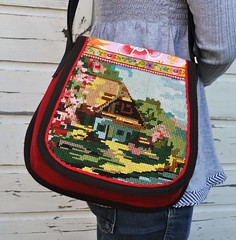 Romantic cottage bag