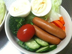 朝食サラダ(2011/10/17)