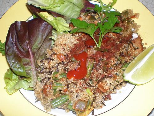Seaweed Quinoa Kedgeree