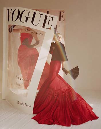 Hannelore Knuts, 'What's in Vogue?', London 2005, Italian Vogue