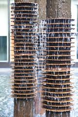 Everyday I'm Trickling (Angad Singh | Zone 5 Aviation) Tags: new city nyc newyorkcity urban water fountain manhattan tamronspaf1750mmf28xrdiiildasphericalif canoneos50d