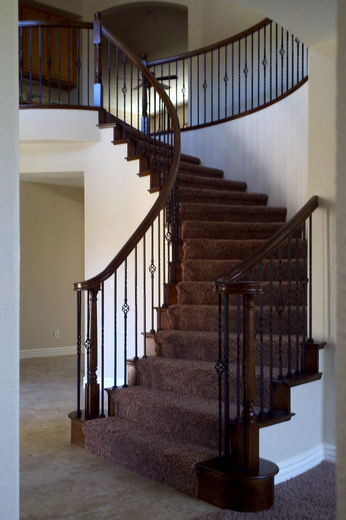 HES A (k Pinson Stairs) Tags: Stairs Staircase Handrail Remodel  Spiralstaircase Spiralstairs Circularstairs