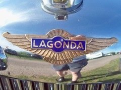 314 Lagonda Badge (robertknight16) Tags: british badges lagonda