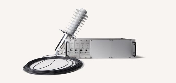 DPT-FO Detector de presencia de tensión con fibra optica