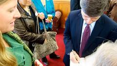 Jeffrey Sachs with Harvard alum