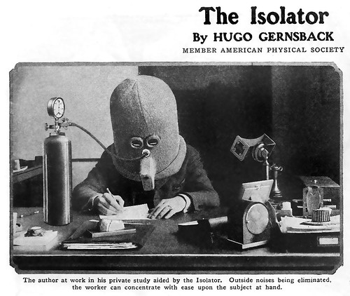 ... isolator isolates! by x-ray delta one