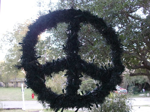 Peace Wreath to Upcycle