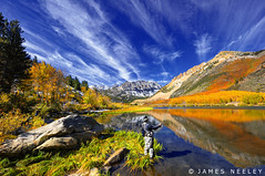 Sierra High (James Neeley) Tags: california autumn fall landscape fisherman fallcolor flyfishing bishop hdr f12 northlake easternsierra 5xp jamesneeley