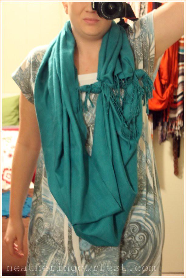 scarf step 3