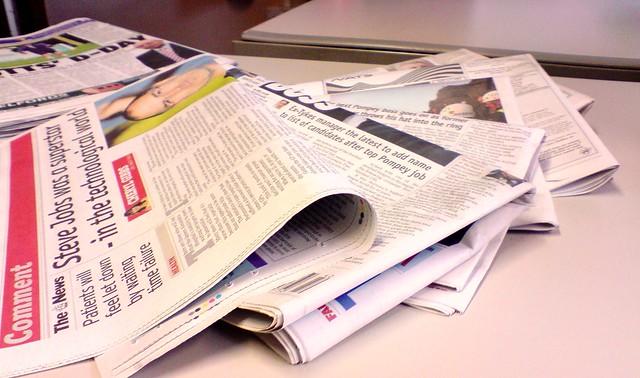 Newspaper colour