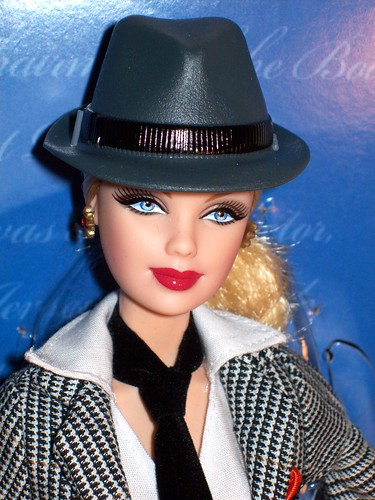 Sinatra Barbie Close-up