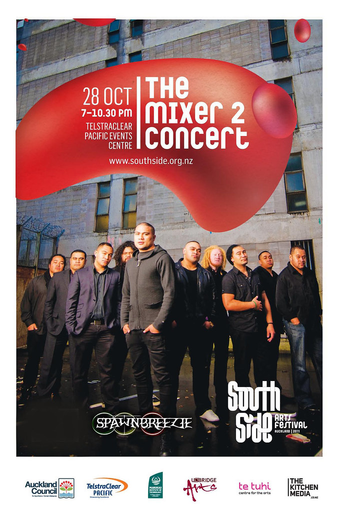 Music - The Mixer2 Concert Poster