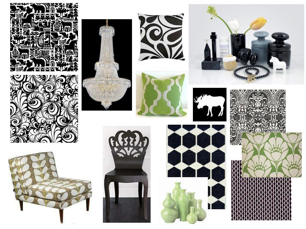 Interior Design.Inspiration Board.SF 1