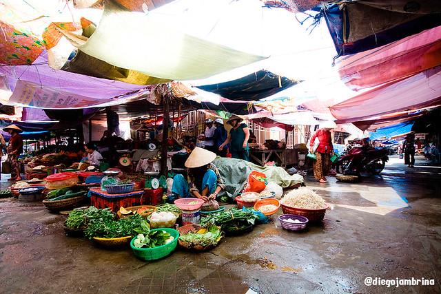 Mercado en Hoian