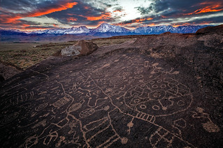 Ancient Scribe, Chalk Bluff, Owens River Valley
