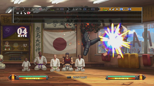 The King of Fighters XIII para PS3: Challenge Mode