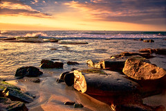 La Jolla Shores (mojo2u) Tags: ocean california sunset beach sandiego lajolla nikond700 nikon28300mm
