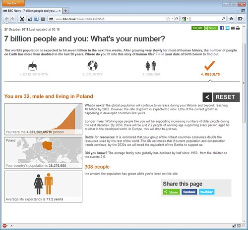 7 billion people and you: What's your number?