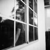 Through Glass (DowntownRickyBrown) Tags: 120 film mediumformat child bokeh windowreflections fujineopanacros selfdevelop rolleiflex28d ilfosol3 thevampirelair
