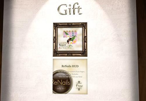 Candynail - Renail HUD & Gift November by Cherokeeh Asteria