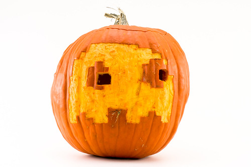 Pac-Man Ghost Pumpkin