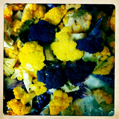 Orange and Purple Cauliflower