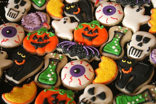 Resultado de imagem para halloween cookies