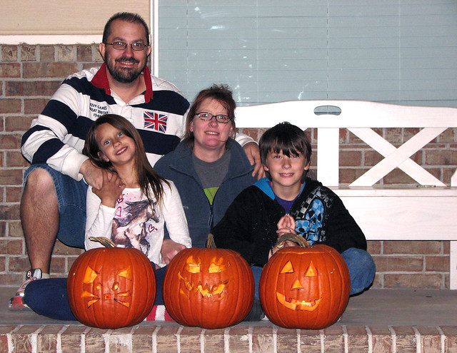 Eric Howton & Family Halloween 2011