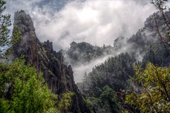 Mists of Paul (pbr42) Tags: cloud mist mountain nature fog peaks hdr capeverde santoantao qtpfsgui
