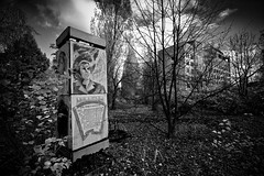 Prypiat, Chernobyl - Ukraine Oct 2011 (50) (Grey Photography) Tags: city abandoned power accident nuclear ukraine ukrainian kiev province zone chernobyl alienation tchernobyl city oblast pripyat zone chernobly chornobyl province plant prypiat union disaster pripjat kiev  soviet atom prypait  atomograd chernobyl disasternuclear exclusion