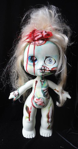 zombie baby large 1 by wickeddollz