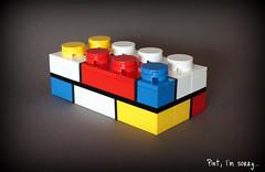 Mondrian (buriedbybricks) Tags: lego mondrian pietmondrian coleblaq brickthree