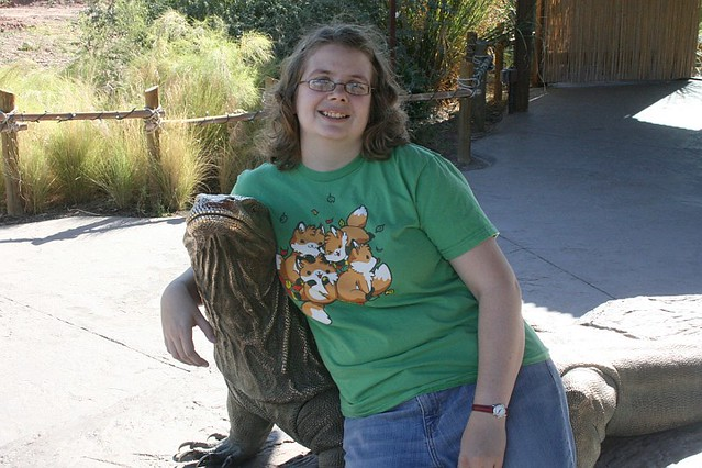 Me at the Phoenix Zoo
