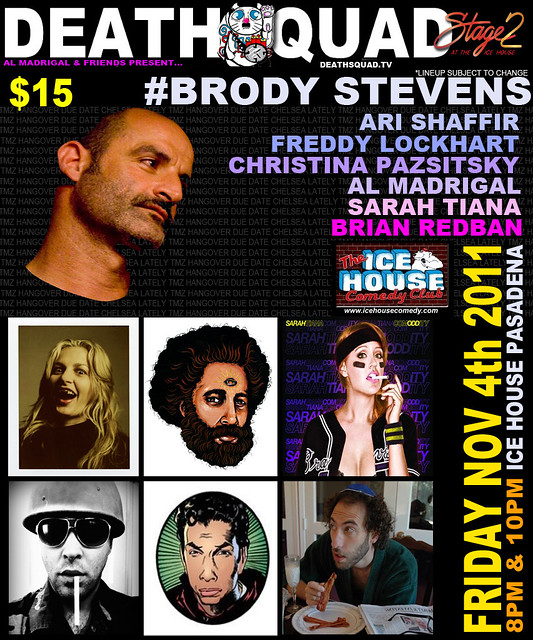 DEATHSQUAD COMEDY LIVE – 11/4