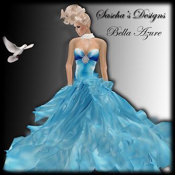 Bella Azure - PROMO Sascha's Designs, 1 linden by Cherokeeh Asteria