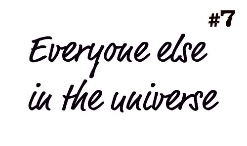 Everyone Else in the Universe