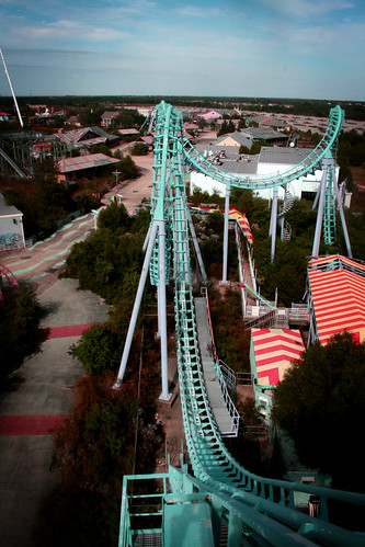 On top of the world - Six Flags NOLA