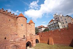 Варшава Барбикан