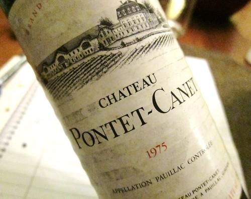 1975 Chateau Pontet-Canet