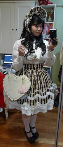 Black & White Sweet-Classic Lolita