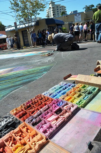 Day 5 of the Chalk Festival in Sarasota, Fla., Nov. 5, 2011