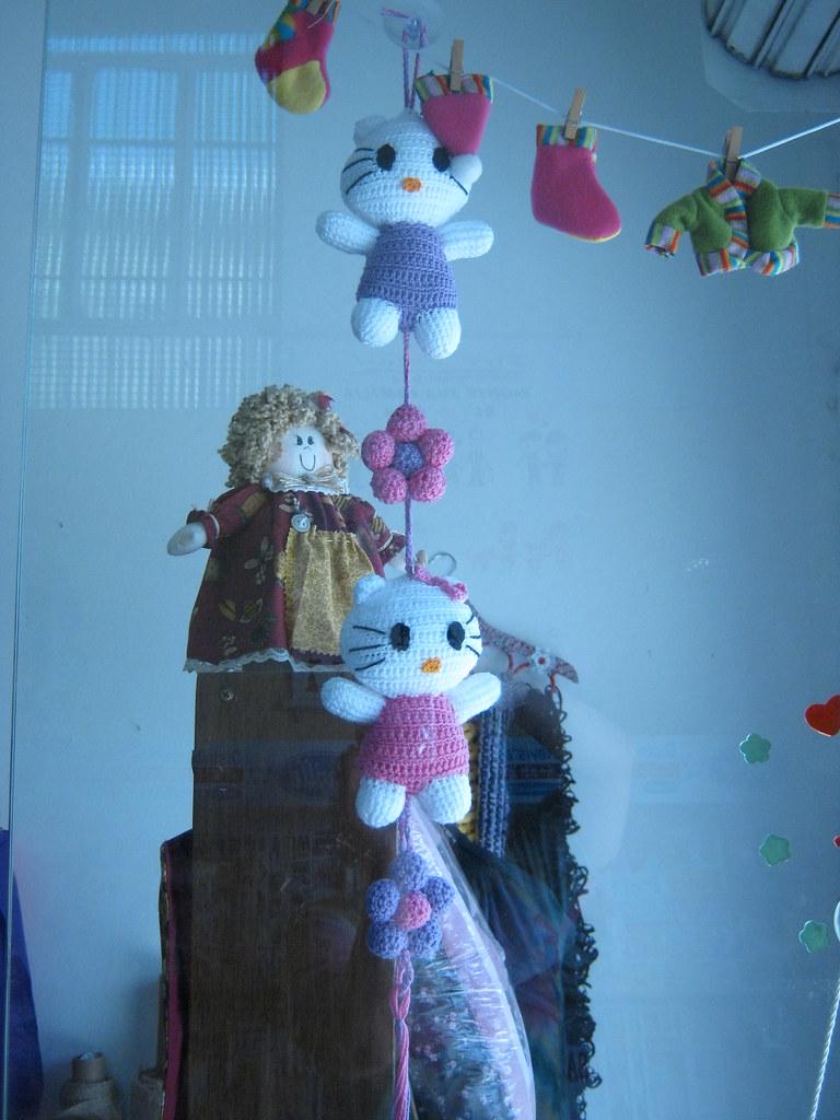 Colección muñecos amigurumi (hello kitty, flores, ...) - YouTube | 1024x768