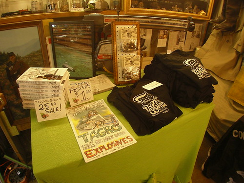 Tacomic Merchandise: Book, Poster, T-shirts and Sunflower Kits