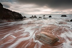 Porz guen (Descliks2bretagne PHOTOGRAPHIE) Tags: ocean longexposure sunset sea sun mer seascape france beach rock canon french brittany bretagne breizh filter paysage plage morbihan hitech rocher couchdesoleil filtre quiberon wildcoast ctesauvage poselongue portblanc nd8 450d canonefs1022usm porzguen descliks2bretagne ledilhuitnicolas nd12softgrad