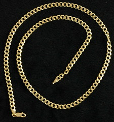 4033. 14KT Gold Chain Necklace