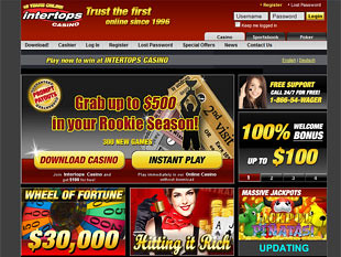 Intertops Casino Home