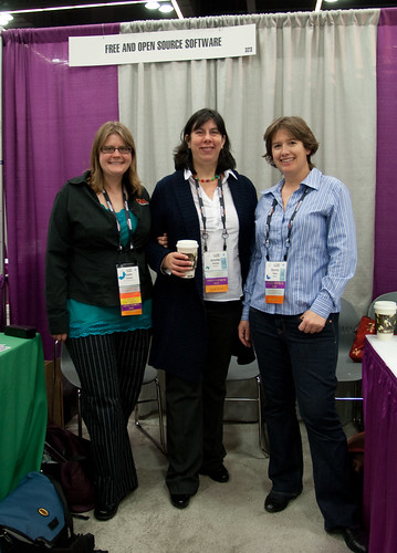 Women in Free and Open Source: Leslie, Jen and Stormy