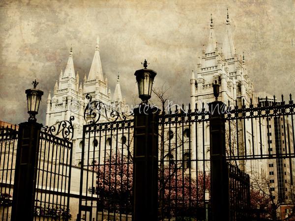 Salt Lake Vintage LDS Temple Prints -9