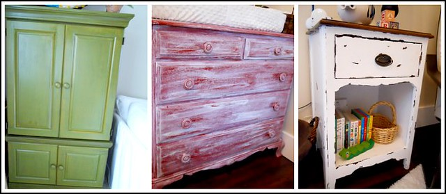 One ... - Tips To QUICKLY Give Furniture A Distressed Look - Andrea Dekker